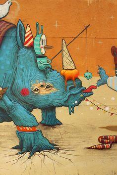 Street Artist: DULK in Copenhagen