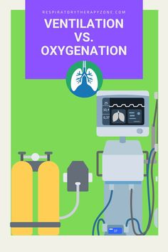 Ventilation vs Oxygenation vs Respiration - What is the Difference? This guide breaks down the definitions, similarities, and differences of each.#Ventilation #Oxygenation #Respiration #RespiratoryTherapy Respiratory Alkalosis, Respiratory Therapy, Respiratory System, Arterial Blood Gas, Intracranial Pressure, Diabetic Ketoacidosis, Mechanical Ventilation, Learning Process, Anatomy And Physiology