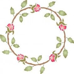 We are so in love with our Rose Wreath Stencil, use it to Diy wall art, on fabric for curtains or to bring new life to furniture. Stencilling is an effective and versatile way to customize any flat surfaces you may have. Our stencils are cheap and easy to use and also offer impeccable quality.
