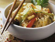 Koreanische Küche - Viel Genuss, wenig Fett #koreanisch #nudeln #rezepte