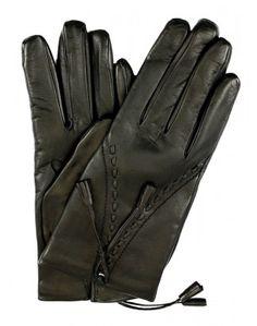 Luxury leather gloves by  LederHandschuhe - Modisch und Exklusiv   Fingerkleid.de   ... in sizes 6 1/2 to 8  http://www.fingerkleid.de/damen-leder-handschuh-troddeln-felicita-schwarz/