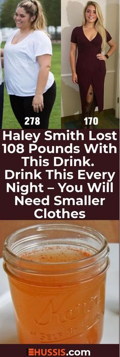 Haley Smith Lost 108 Pounds With This Drink. Drink This Every Night-You Will Need Smaller Clothes Haley Smith Lost 108 Pounds With This Drink. Drink This Every Night-You Will Need Smaller Clothes Diet Drinks, Healthy Drinks, Get Healthy, Healthy Tips, Healthy Skin, Healthy Fruits, Healthy Weight, Beverages, Weight Loss Drinks
