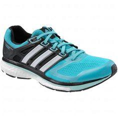 Adidas Supernova Glide 6 Boost Running Sneaker Shoe - Vivid Mint/Running White/ Frost Mint - Womens - 9.5