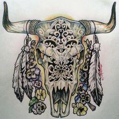 Ox/Cow Skull
