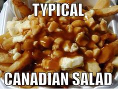 Who doesn't like poutine. Quebec Poutine at corner of Huronia & Yonge St.the best in Barrie:) Canadian Dishes, Canadian Cuisine, Canadian Food, Canadian Recipes, Canadian Humour, Canadian Memes, Canadian French, Canadian Things, Gastronomia