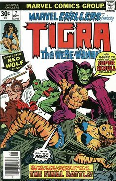 Wolves and Tigras and Skrulls, oh my!