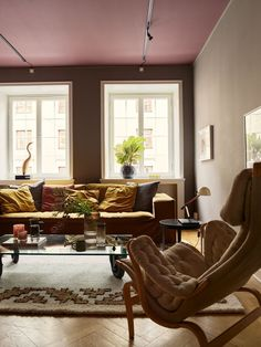 Charming Bohemian Home Interior Design Ideas Living Room Trends, Living Room Colors, Living Room Paint, Home Living Room, Living Room Designs, Living Room Decor, Simple Living Room, Small Living Rooms, Living Room Remodel