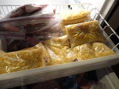Never trust a skinny cook....: Frozen sweet corn