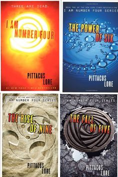 The Lorien Legacies - Read the first, on the second, they are amazing!! TBR List!