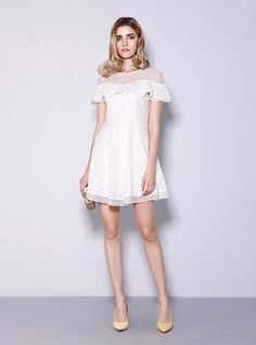 Elegant dress perfect for your spring and summer! Come on!  HOTSALE&CLEARANCE~Do not miss it~  http://www.amazon.com/gp/product/B00W6IKVGW