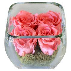 Preserved Rose Arrangement.