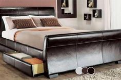 Dresden 4-Drawer Bed - 3 Colours!