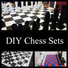 DIY Chess Boards and Sets