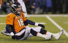 20 times Peyton Maning looked super upset during the Super Bowl