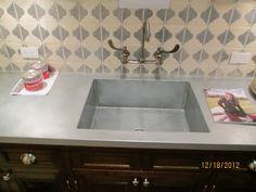 Zinc Bar for Dorm Room Kitchen Tops, Kitchen Pantry, Zinc Sheet, Zinc Table, Dorm Room, Sink, Indoor, Pantries, Cool Stuff