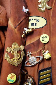 Backstage at Vivienne Westwood #SS16 Gold Label
