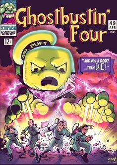 Awesome #Ghostbusters comic artwork by Donovan Alex