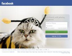 Nowy ekran logowania na Facebooku.