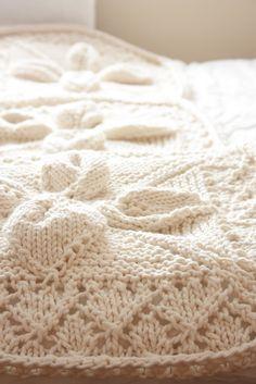 beautiful knit throw inspiration