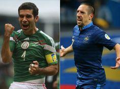Ribery, infelizmente se machucou e não veio ao Mundial de Brasil - a
