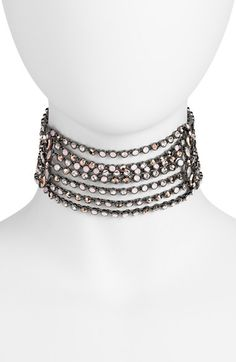 Free shipping and returns on Jenny Packham Multistrand Choker at Nordstrom.com. Sparkling strands of bezel-set crystals come together to form a stunning choker that's at once classic and of the moment.
