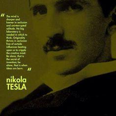 Nikola Tesla. Damn. How wise was this man?
