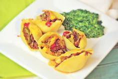 The Girl with the Wooden Spoon: Mexican Stuffed Shells