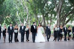 Elegance, class and a hint of high end fashion. Glamour couple Katherine and Aaron left no stone unturned when it came to luxurious details for their big day. From Chanel to Cerrone and Dior to Valentino this wedding had it all! The bride's sexy Steven Khalil gown complimented her all monochrome bridal party perfectly. Held at the prestigious Doltone House in Hyde Park guests were entertained by Ballerinas, Brazilian dancers and a flame thrower. We believe it's fair to say this bride knew…