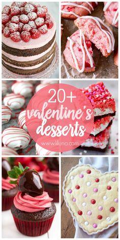 20+ Valentine's Dess