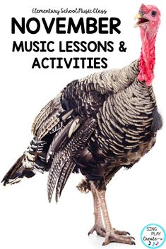 Sing, play, create and move through November Music Class lessons with this amazingly adaptable and interactive resource. K-6 lessons to learn music concepts, experience composing and improvisation along with movement activities. #novembermusicclasslessons  #thanksgivingmusiclessons  #thanksgivingmusicclassactivities  #thanksgivingguitarsongs  #thanksgivingukulelesongs  #thanksgivingmusicactivities   #elementarymusiceducation  #orfflessons #orffteacher #kodalyteacher #MusicEducationActivities