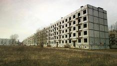 Soviet Apartment Buildings, Karosta Prison, Liepaja