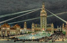 The Architectural Scheme - Pan-American Exposition of 1901 - University at Buffalo Libraries