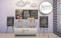 Rubyのホームデザインで設定甘いアイスクリーム