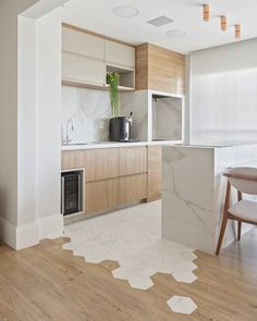 20 tips will help you improve the environment in your bedroom. Open Plan Kitchen Living Room, Kitchen Room Design, Modern Kitchen Design, Home Decor Kitchen, Kitchen Interior, White Wood Kitchens, Modern Farmhouse Kitchens, Home Kitchens, Cuisines Design