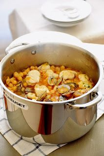 Seafood Recipes, Dog Food Recipes, Cooking Recipes, Healthy Recipes, Bacalhau Recipes, Cocotte Le Creuset, Batch Cooking, Appetisers, Mediterranean Recipes