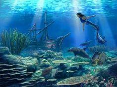 sunken ship drawing - Google Search