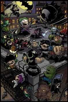 Gotham City. Adorable!