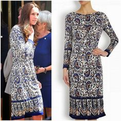 Duchess of Cambridge in Tory Burch | MYROYALSHOLLYWOOD FASHİON
