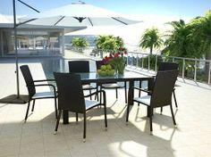 Nuovo set da pranzo in #rattan Marzato M. Ideale epr ogni #terrazza o #giardino. Potete acquistarlo direttamente tramite il nostro sito http://www.artelia-design.it/rattan-set-pranzo-marzato-m.html
