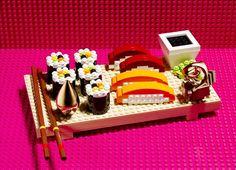 ¿No os recuerda a nuestro sushi ibérico? Legos!
