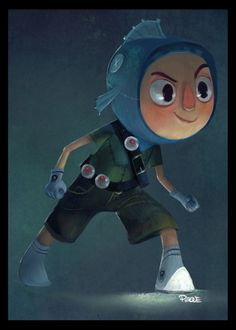 Peque - Character design and visual development on Behance