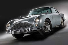 1964 Aston Martin DB5 (appeared in Thunderball and Goldfinger)