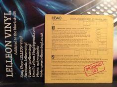 """UB40 Signing Off LP Album Vinyl UB-1 GRADLP2 (inc 12""""Single) Reggae Music:Records:Albums/ LPs:Reggae/ Ska:Roots"""