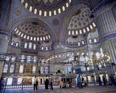 Mesquita azul Istambul Turkey