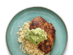 Learn how to make Cumin-Rubbed Chicken with Guacamole Sauce . MyRecipes has 70,000+ tested recipes and videos to help you be a better cook