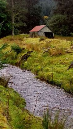 Old shed in Laggan Loch - by Ronald Stokes