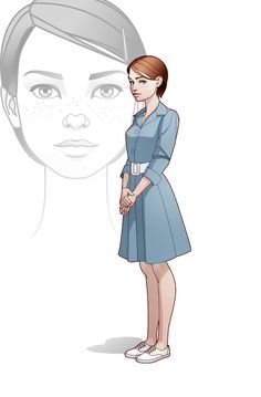 Maria by ~javieralcalde on deviantART ✤ || CHARACTER DESIGN REFERENCES | Find more at https://www.facebook.com/CharacterDesignReferences if you're looking for: #line #art #character #design #model #sheet #illustration #expressions #best #concept #animation #drawing #archive #library #reference #anatomy #traditional #draw #development #artist #pose #settei #gestures #how #to #tutorial #conceptart #modelsheet #cartoon #female #lady #woman #girl || ✤