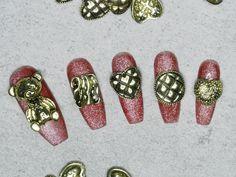Nail Art At Home, 3d Nail Art, 3d Nails, Diy Your Nails, Colorful Nail Art, Nail Art Supplies, Punk, Nail Supply, Nail Decorations