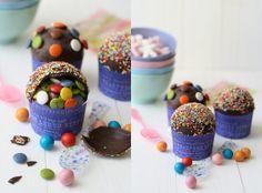Piniata Cupcakes!