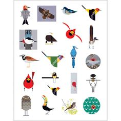 We love our Charley Harper collection!